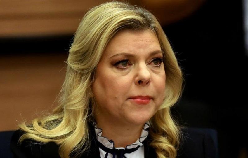 Сара Нетанияху в зале суда